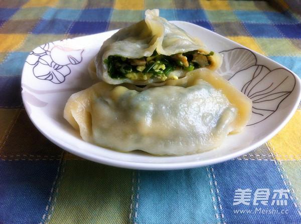 素三鲜蒸饺成品图