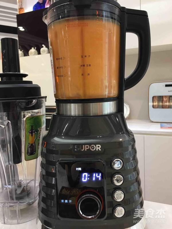 苹果胡萝卜汁的简单做法