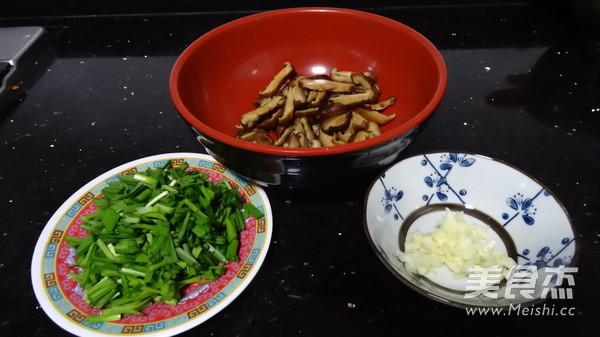 韭菜虾毛炒双冬的做法大全
