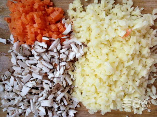 土豆大蒸饺的做法图解