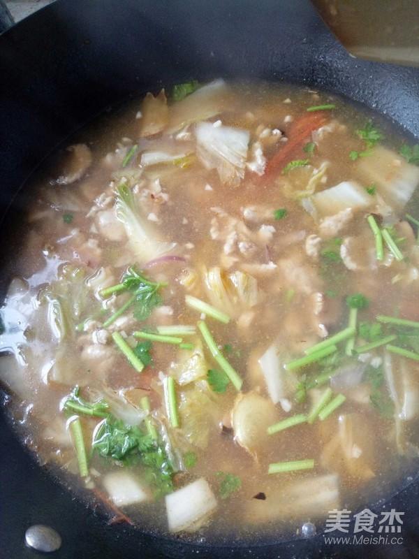 白菜肉片汤怎么炒
