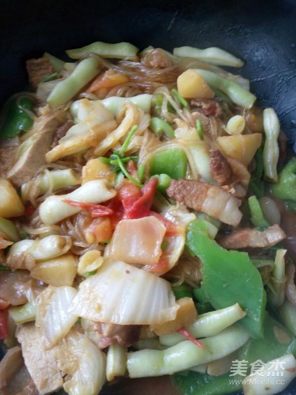 大锅烩菜怎么煮