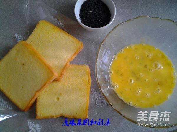 吐司面包煎鸡蛋的做法图解