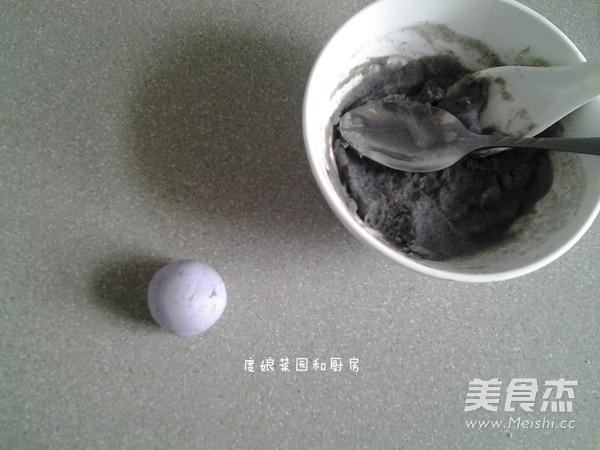 紫甘蓝黑芝麻汤圆怎么煮