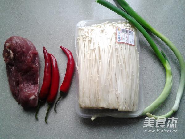 肉末金针菇的做法大全