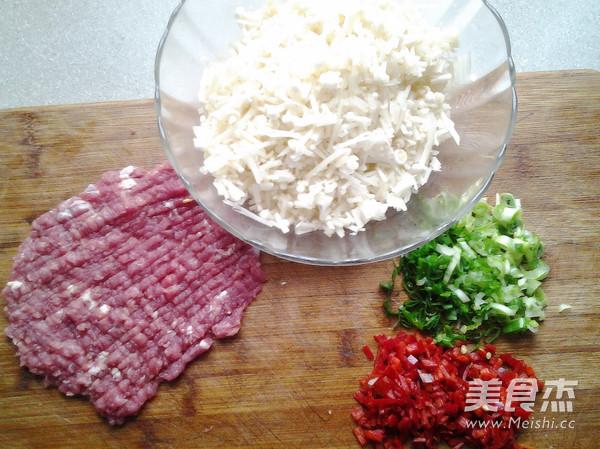 肉末金针菇的做法图解