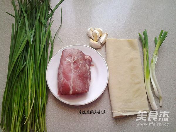 豆腐皮韭菜肉卷的做法大全