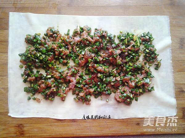 豆腐皮韭菜肉卷怎么吃