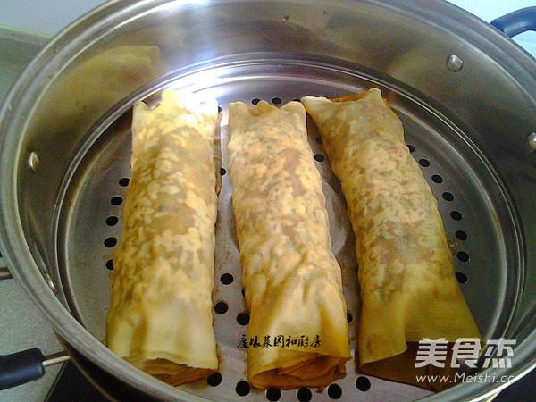 豆腐皮韭菜肉卷怎么煮