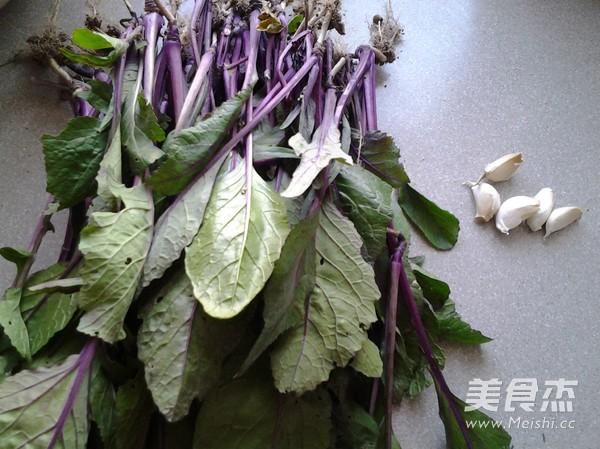 蒜蓉红菜苔的做法大全