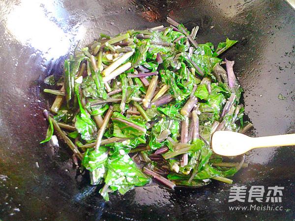 蒜蓉红菜苔怎么炒