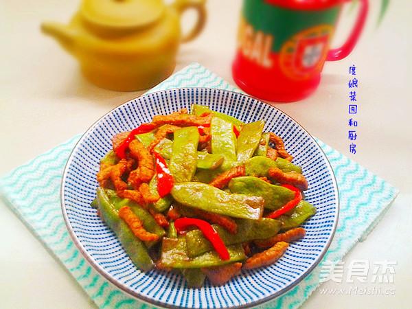 芸豆炒肉成品图