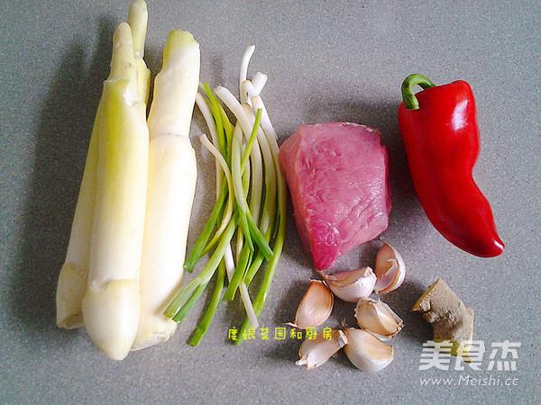 茭白炒肉的做法大全