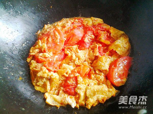 西红柿炒鸭蛋怎么煮