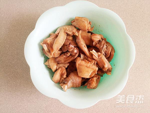 鸡肉烧豆子的家常做法