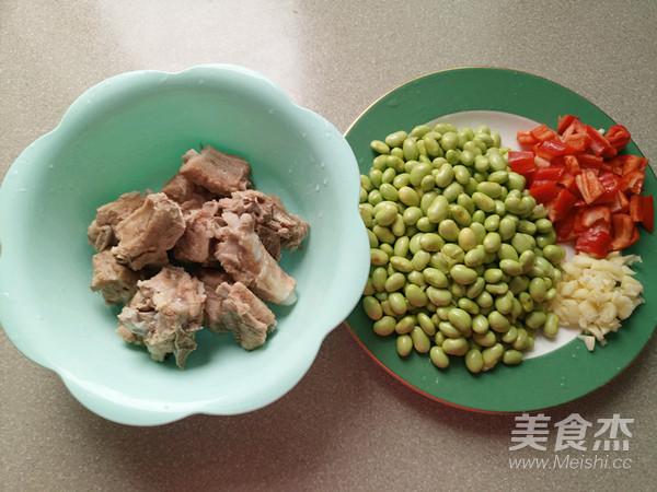 排骨炒青豆的做法图解