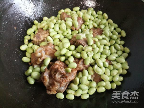 排骨炒青豆怎么炒