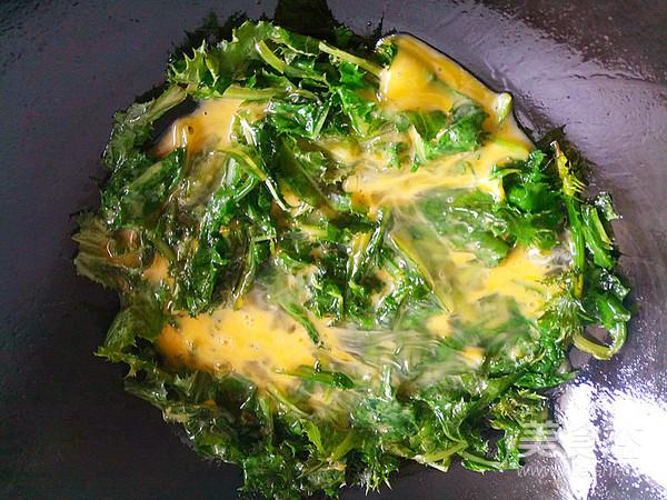 刺儿菜炒鸡蛋怎么做