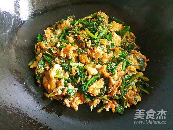 刺儿菜炒鸡蛋怎么炒