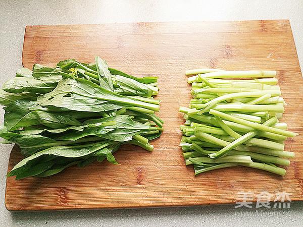 清炒菜苔的做法图解