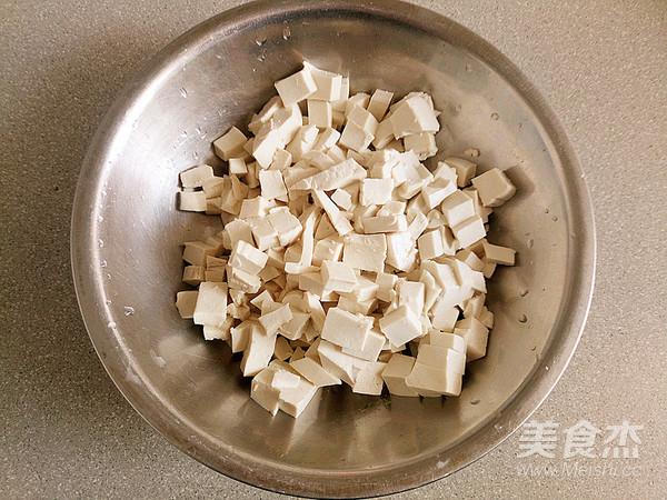 美味香椿豆腐的做法图解