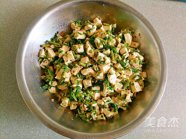 美味香椿豆腐怎么做