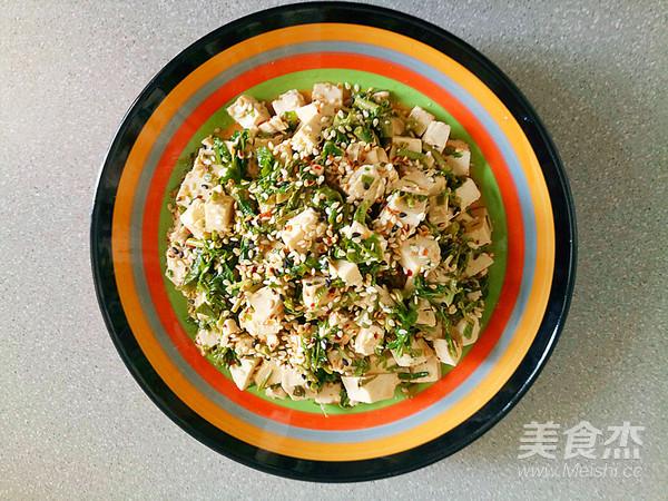 美味香椿豆腐怎么炒