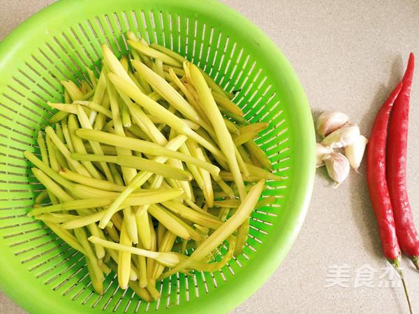 清炒黄花菜的做法大全