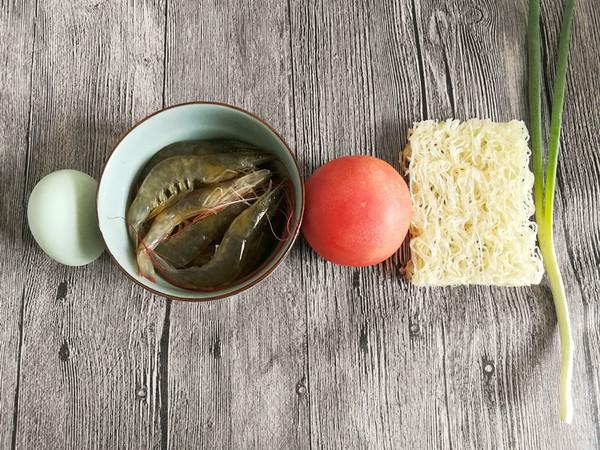 茄汁大虾米粉的做法图解