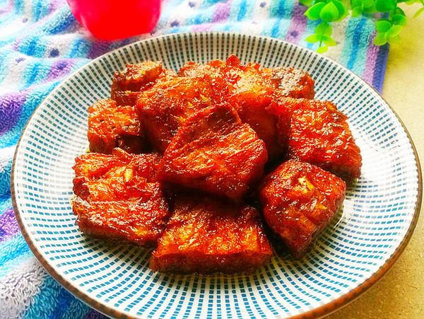 红烧鱼块成品图