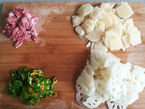 牛肉土豆炒藕片的做法大全