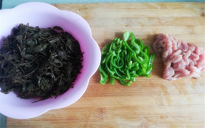 咸香椿炒肉丝的做法图解
