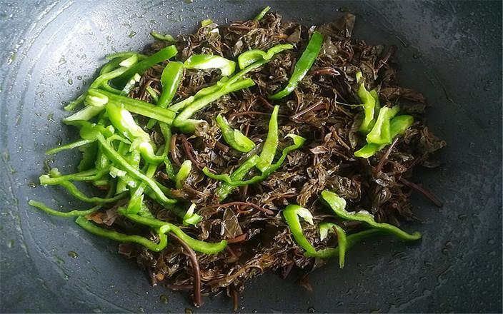 咸香椿炒肉丝怎么吃