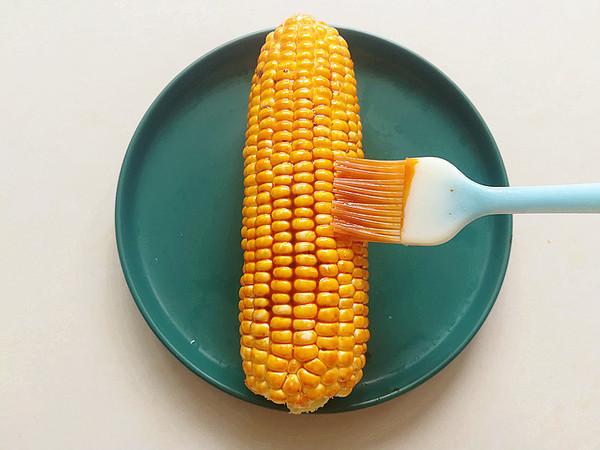 烤箱版烤玉米的家常做法