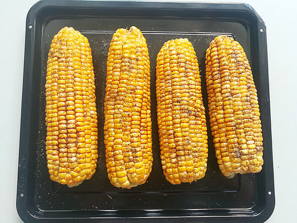 烤箱版烤玉米的简单做法