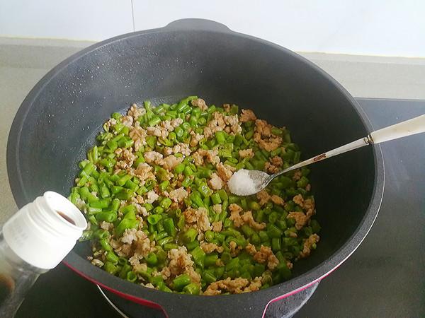 肉末炒豆角的家常做法
