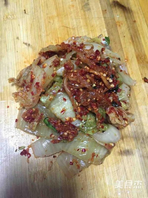 韩式辣白菜炒五花肉的做法图解