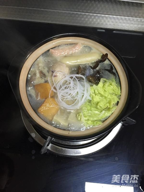 白菜粉丝小砂锅怎么做