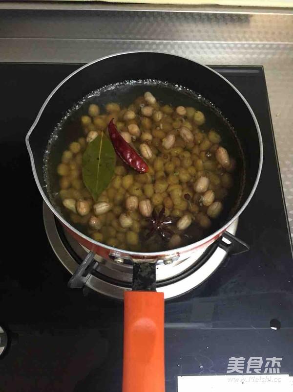 凉拌煮花生的简单做法