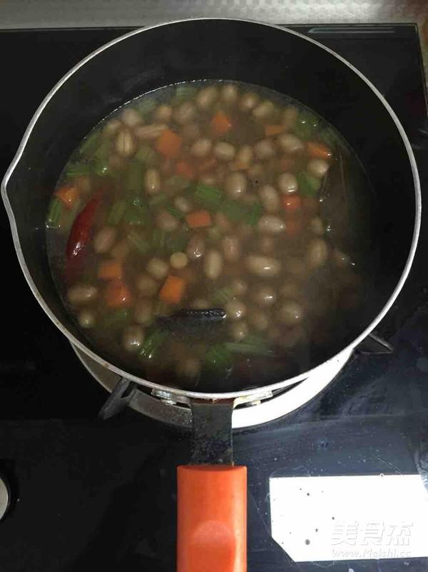 凉拌煮花生怎么做