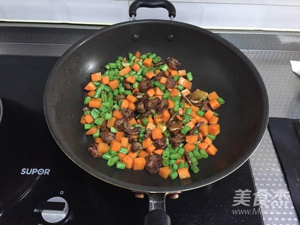 腊肠燕麦米饭的简单做法