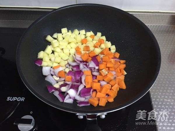 咖喱鸡饭的家常做法