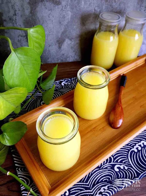 纯香玉米汁成品图