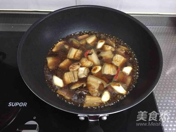 海鲜菇烧肉怎么炒