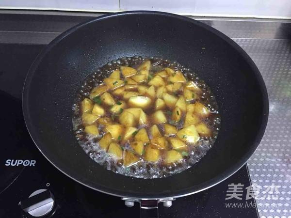 红烧土豆怎么吃