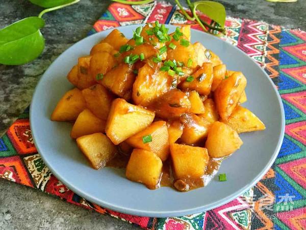 红烧土豆怎么炒