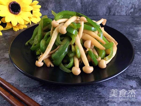 青椒海鲜菇怎么炖