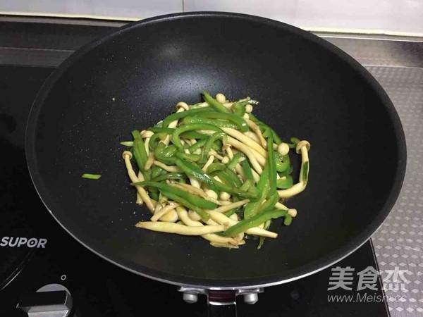青椒海鲜菇怎么煮