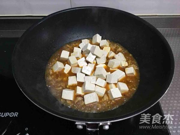 肉末烧豆腐怎么炒