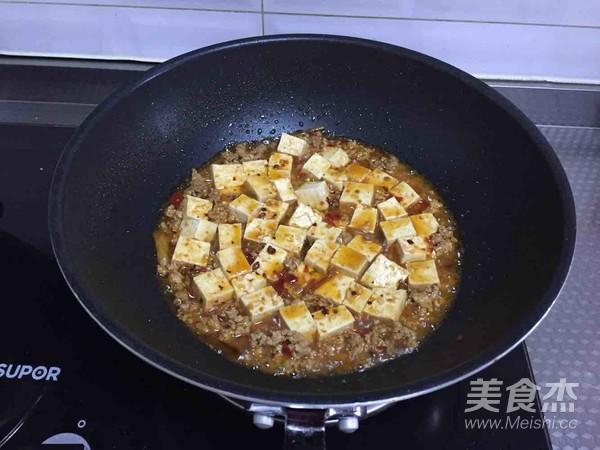 肉末烧豆腐怎么煮